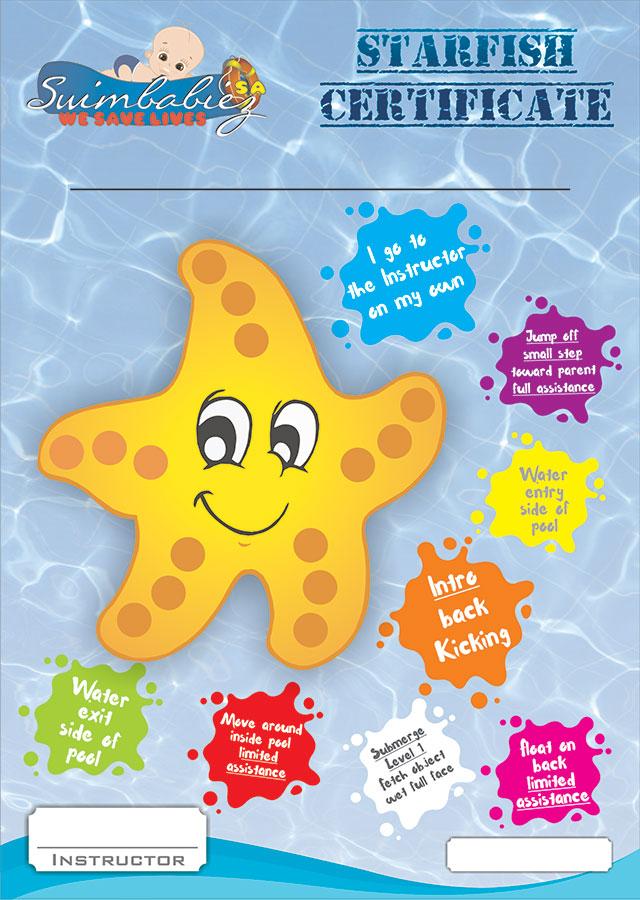 Babies Starfish Certificate