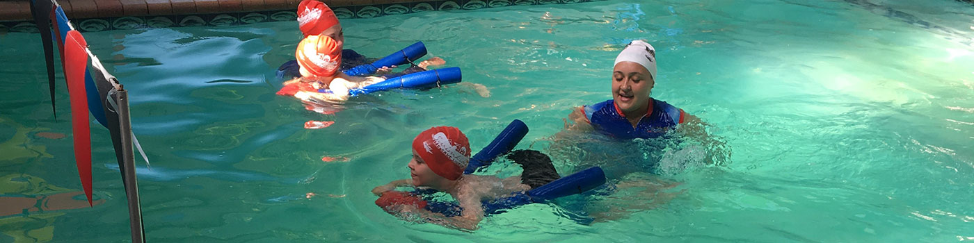 Learning Kids to swim
