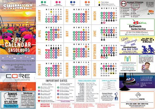 Sasolburg-Calendar