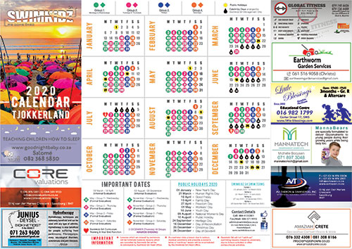 Tjokkerland-Calendar